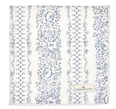 GreenGate Stoff-Serviette Jenny Dusty Blue
