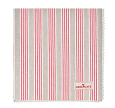 GreenGate Stoff-Serviette Nora Red