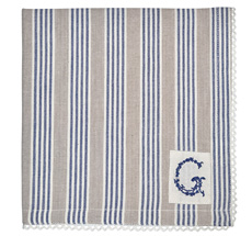 GreenGate Stoff-Serviette Nora Blue