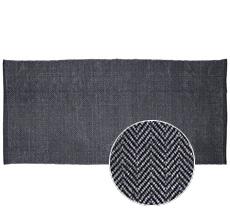 GreenGate Teppich Amanda Stone Washed Dark Grey 70x140
