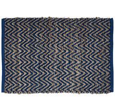 GreenGate Teppich Nora Blue 60x90