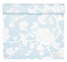 GreenGate Tischläufer Ingrid Pale Blue 45x140