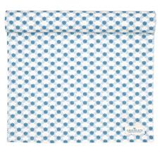 GreenGate Tischläufer Lolly Blue 45x140