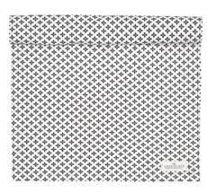 GreenGate Tischläufer Sasha Dark Grey 45x140