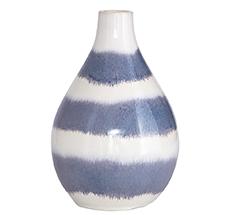 "House Doctor Vase ""TWO"" Weiß/Grau"