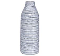 "House Doctor Vase ""Circles"" Grau"