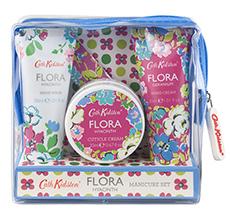 Cath Kidston Flora Blue Hyacinth Maniküre-Set 6-teilig
