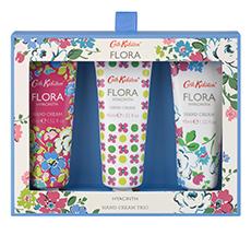 Cath Kidston Flora Blue Hyacinth Handcreme Trio