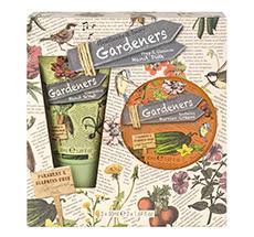 Heathcote & Ivory Gardeners Schutzcreme und Handpeeling im Set