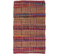Rice Fußabtreter Striped