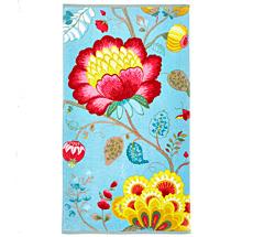 PIP Studio Handtuch Floral Fantasy Light Petrol