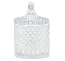 GreenGate Glasschale mit Deckel Crystal Clear