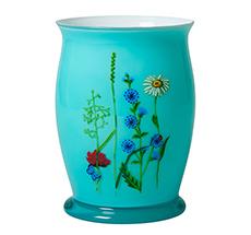 Rice Vintage Glas-Vase Flower Mint
