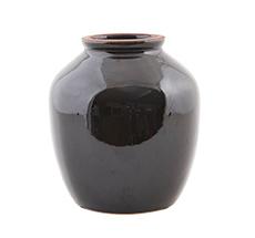 House Doctor Vase Shine Black M
