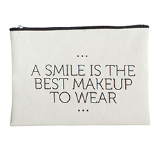 House Doctor Makeup Tasche Smile