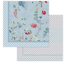PIP Studio Tagesdecke Hummingbirds Blue