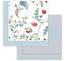 PIP Studio Tagesdecke Hummingbirds Star White