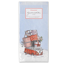 krima & isa Tüten Weihnachtsbus 6er-Set inkl. Etiketten
