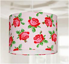 Lampenschirm Rosen