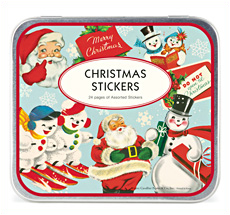 Cavallini Decorative Christmas Stickers