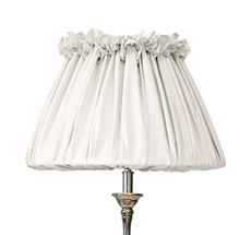 GreenGate Lampenschirm mit Rüschen Poppy Beige