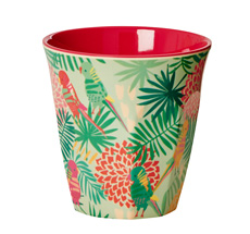 Rice Melamin Becher Two Tone Tropical