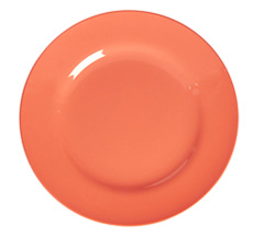 Rice Melamin Speiseteller Pastel Neon Coral