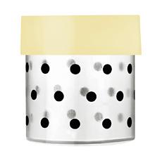 Miss Étoile Aufbewahrungs-Dose Dots S, Deckel gelb