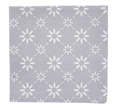 Krasilnikoff Stoffserviette Diagonal Grey