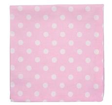Krasilnikoff Stoffserviette Pink White Dots