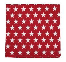 Krasilnikoff Stoffserviette Star Red
