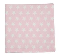 Krasilnikoff Stoffserviette Star Pink
