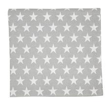 Krasilnikoff Stoffserviette Star Light Grey