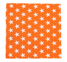 Krasilnikoff Serviette Star Orange