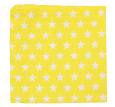 Krasilnikoff Serviette Star Yellow