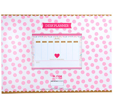 Rice Calendrier sous-main Nice and Practical