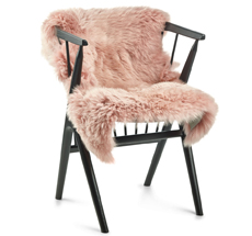Natures Collection New Zealand Sheepskin Rosa