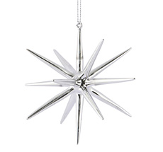 House Doctor Ornament Spike Silber 12 cm