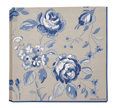GreenGate Papier-Serviette Amanda Dark Blue Large