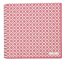 GreenGate Papier-Serviette Bianca Red Large
