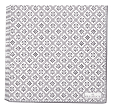 GreenGate Papier-Serviette Bianca Warm Grey Large