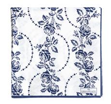 GreenGate Papier-Serviette Fleur Blue Large 20 Stk.