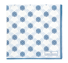 GreenGate Papier-Serviette Lolly Blue Small 20 Stk.