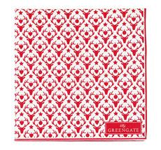 GreenGate Papierservietten Reindeer Red Small 20 Stück