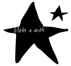 Poetic Wall Wandtattoo Make a wish
