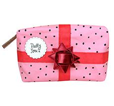 Disaster Designs Make-Up Täschchen Pompom Tutti Pink