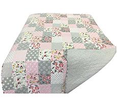 Krasilnikoff Quilt Pink Patchwork
