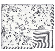 GreenGate Quilt Amanda Dark Grey