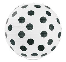 Miss Étoile Reislampe Big Black Dots klein