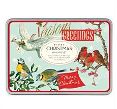 Cavallini Mailing Set Christmas Birds